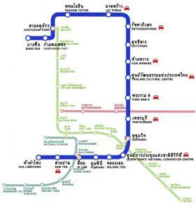 เส้นทางรถใต้ดิน BRT